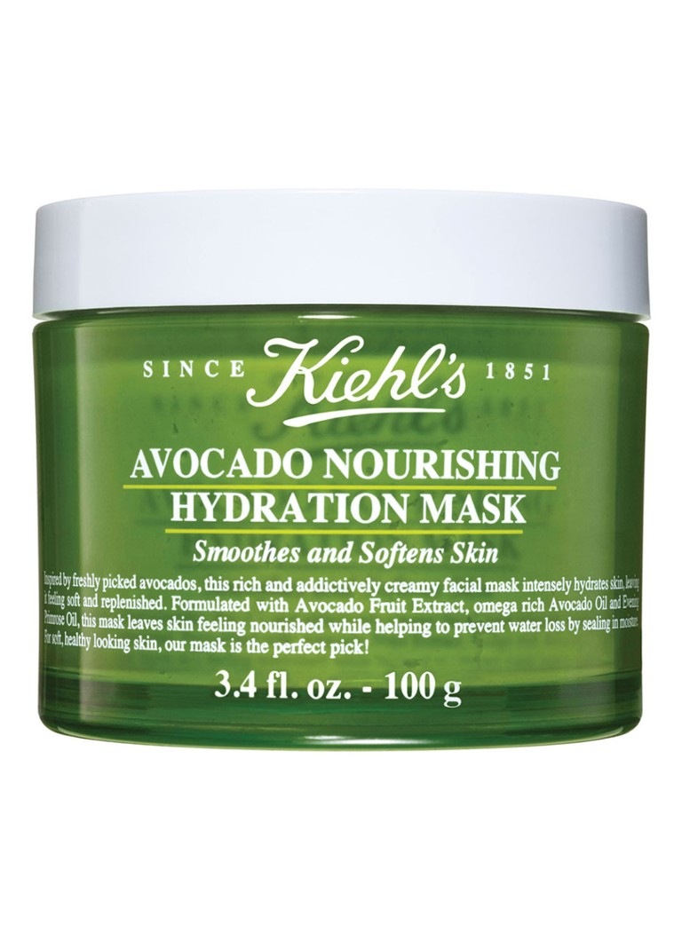 Kiehl's - Avocado Nourishing Hydration Mask - Limited Edition gezichtsmasker -