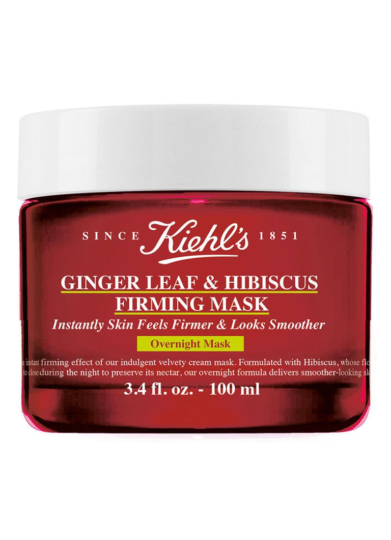 Kiehl's - Ginger Leaf & Hibiscus Firming Mask - nachtmasker - null