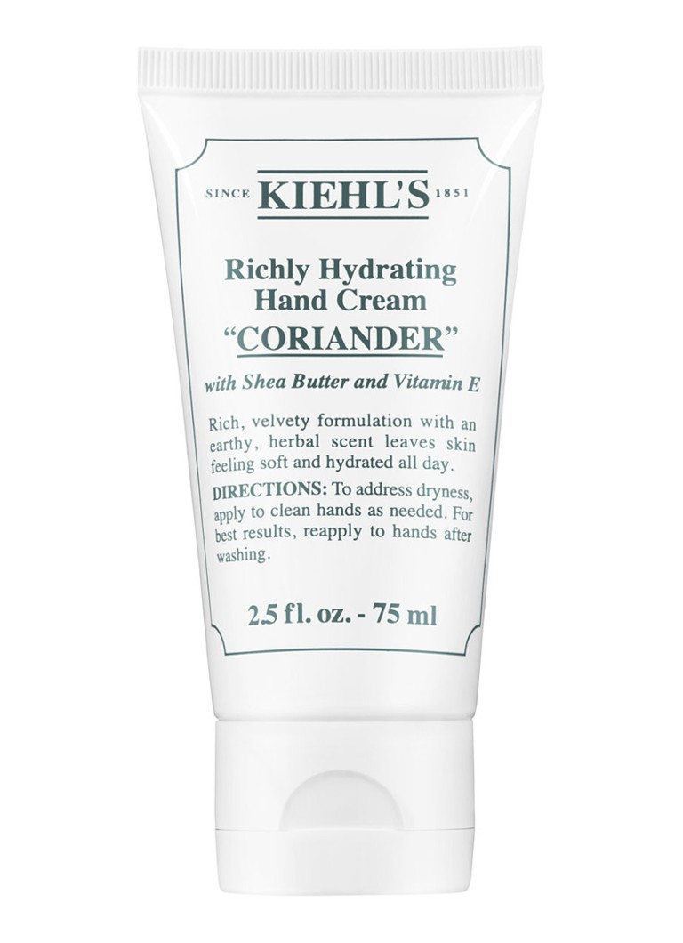 Kiehl's - Richly Hydrating Hand Cream Coriander - handcrème - null