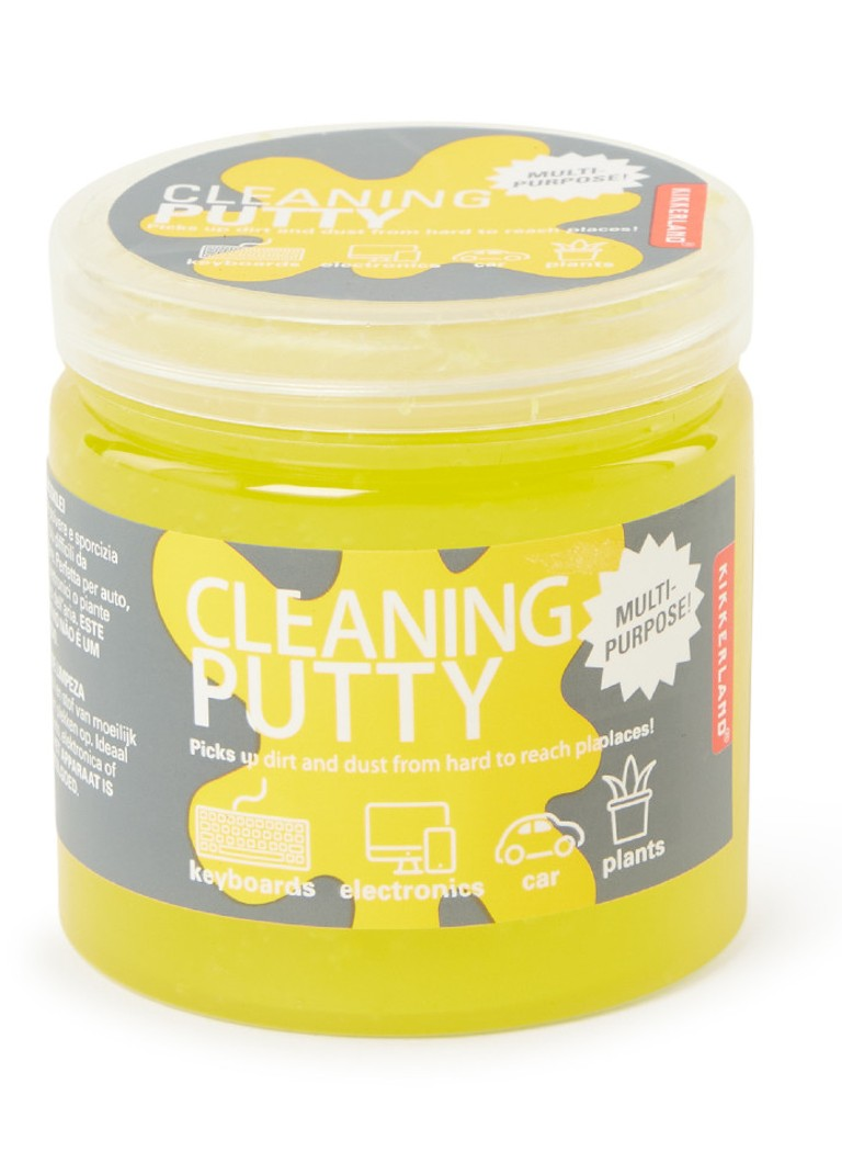 Kikkerland - Cleaning Putty kleefpasta - Transparant