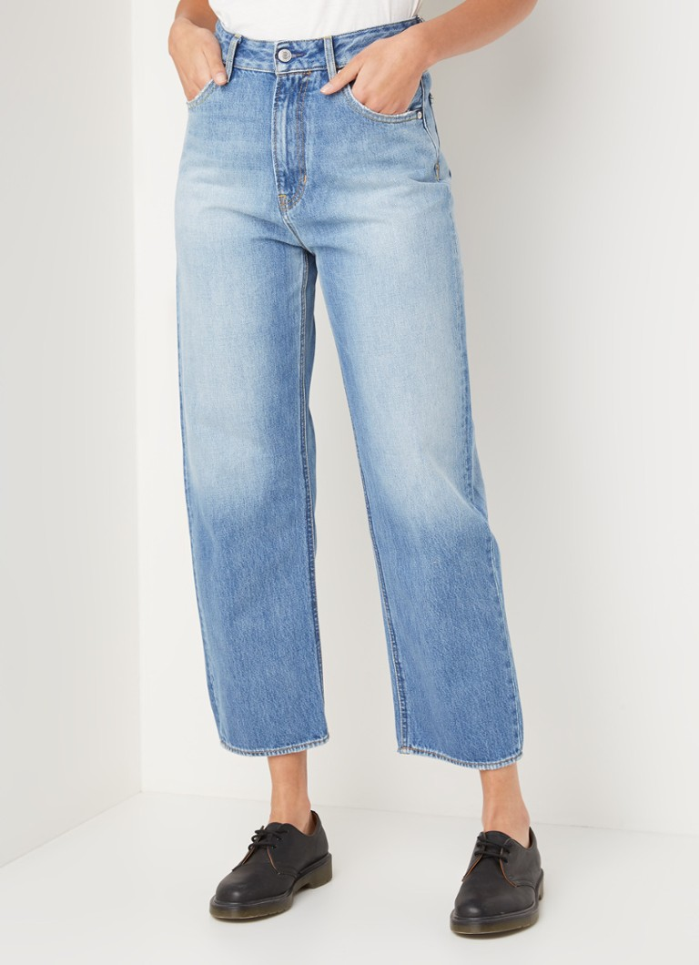 Kings of Indigo - Alice high waist loose fit 7/8 jeans - Indigo