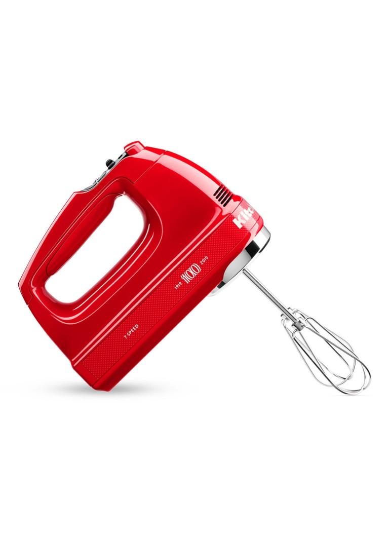 KitchenAid - Limited Edition Queen of Hearts handmixer 5KHM7210H - Rood