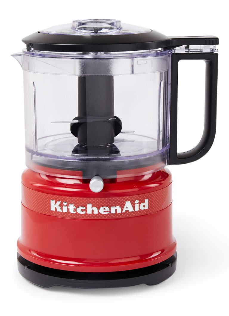 KitchenAid - Limited Edition Queen of Hearts mini foodprocessor 830 ml 5KFC3516HESD - Rood