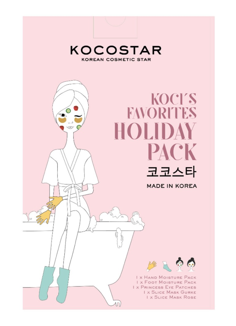 Kocostar - Koci's Favorites Holiday Pack - Limited Edition maskerset - null