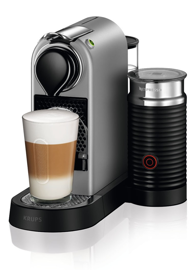 Krups - Citiz & Milk Nespresso machine XN760B - Zilver