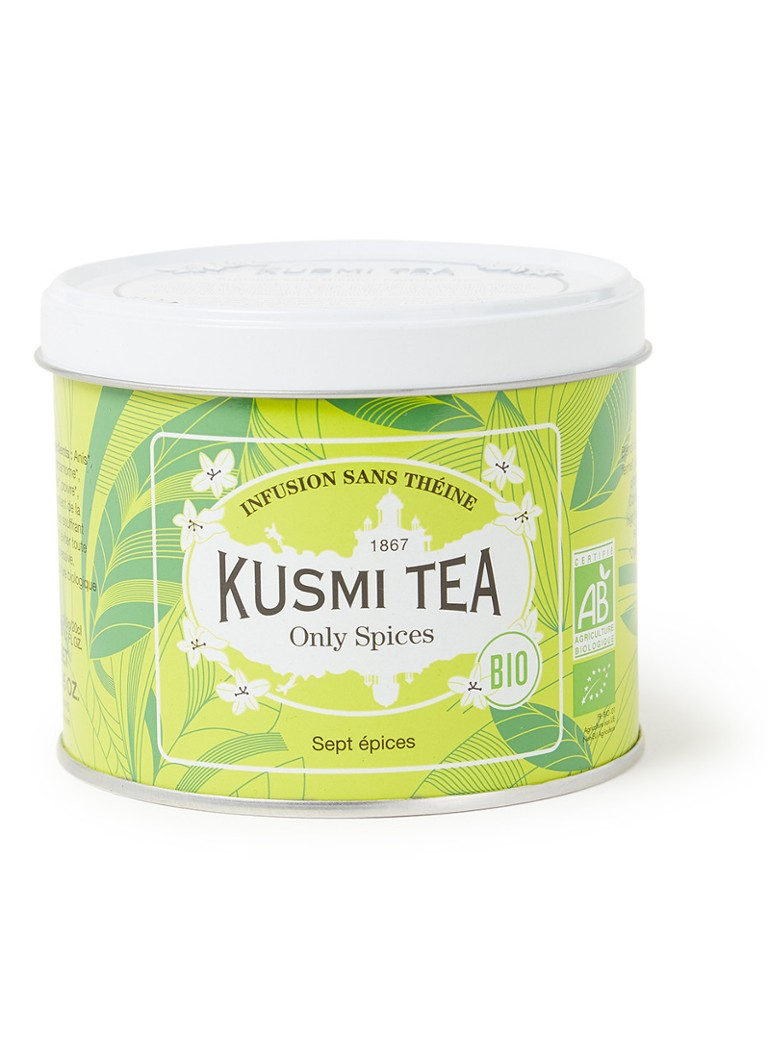 Kusmi Tea - Only Spices losse thee 100 gram - Groen