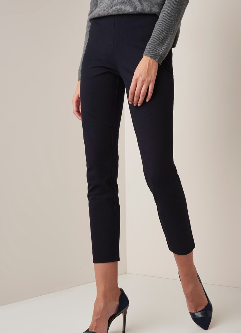 L.K.Bennett - Eden high waist slim fit legging - Donkerblauw