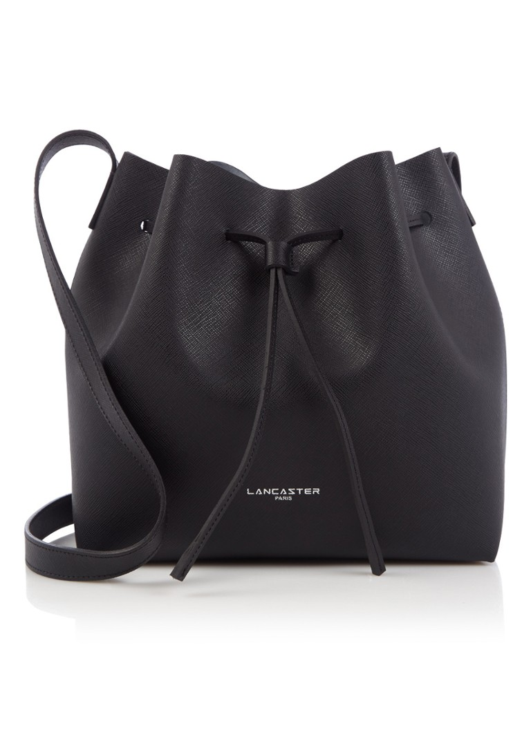 Lancaster Paris Pur Saffiano bucket bag