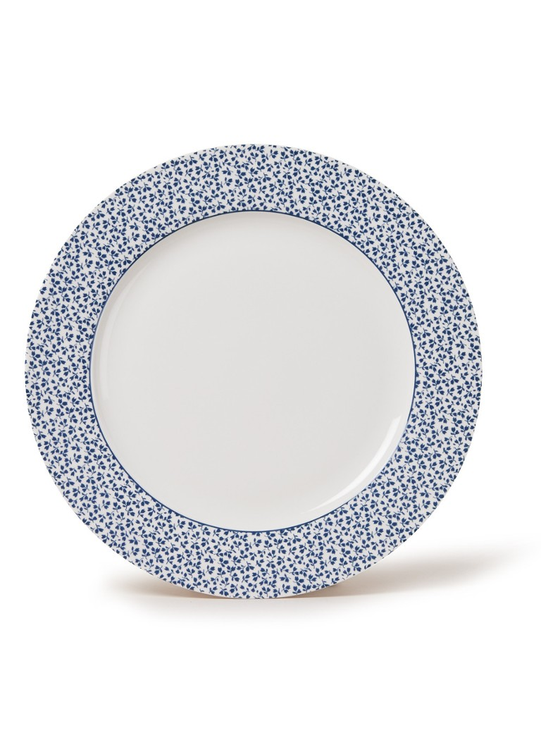 Laura Ashley - Floris dinerbord 30 cm - Wit