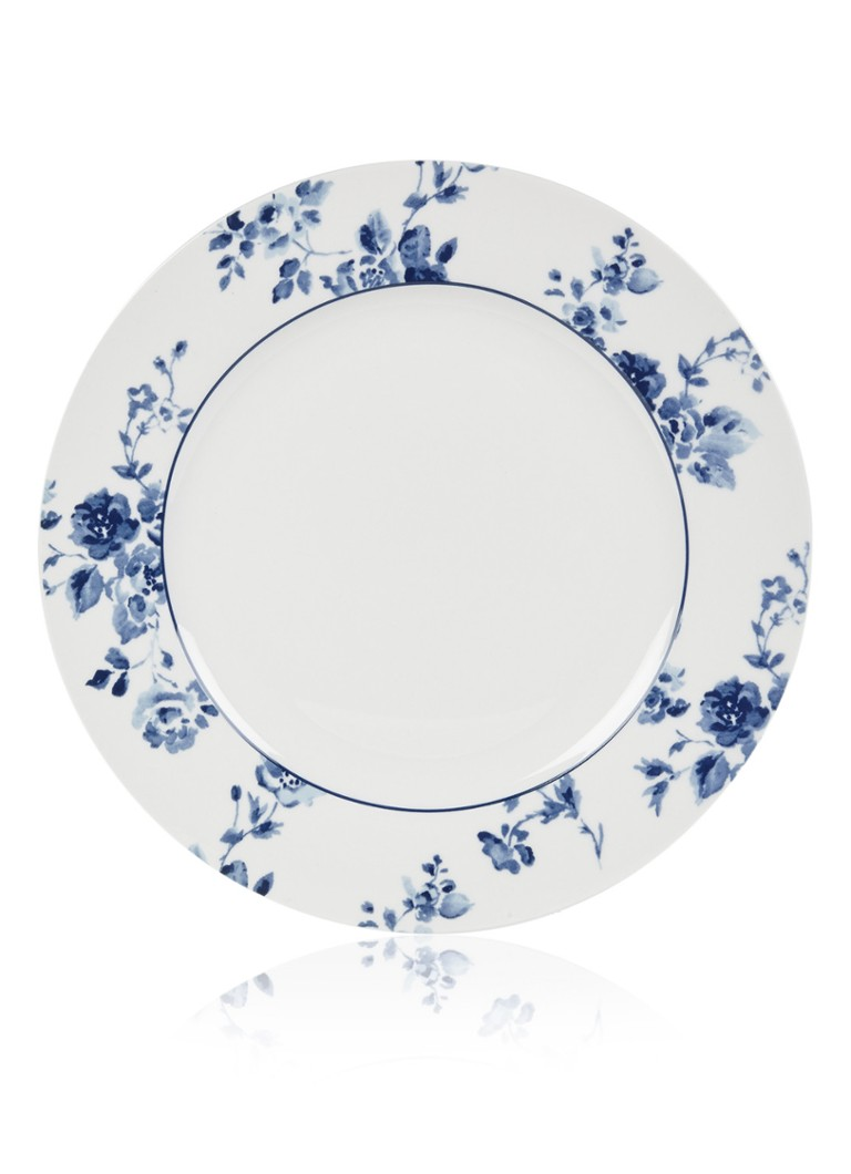 Laura Ashley - Rose dinerbord 26 cm - Donkerblauw
