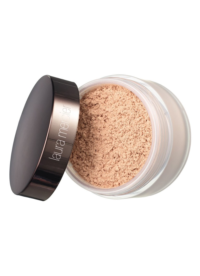 Laura Mercier - Mini Translucent Loose Setting Powder Glow - mini glanzende losse poeder - null
