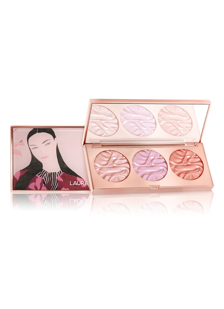 Laura Mercier - Paint With Light Face Illuminator Trio Radiant - Limited Edition highlighter palette -