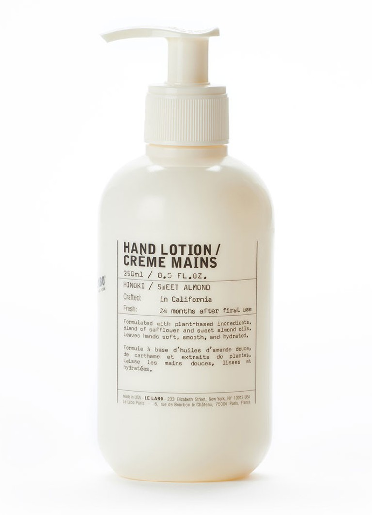 Le Labo - Hinoki / Sweet Almond Hand Lotion - handcrème - null