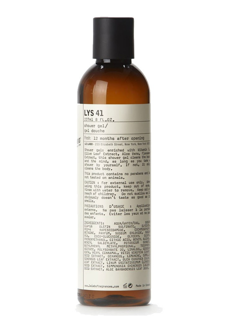 Le Labo - Lys 41 Shower Gel - douchegel -