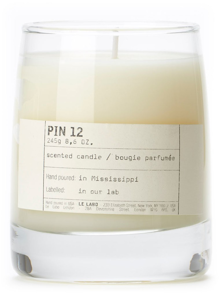 Le Labo - Pin 12 Classic Candle geurkaars - Ivoor