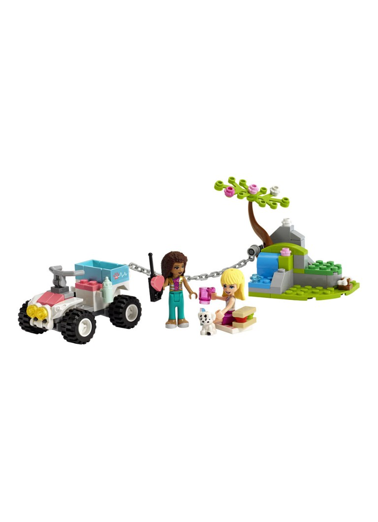 LEGO - Friends Dierenkliniek reddingsbuggy - 41442 - Paars