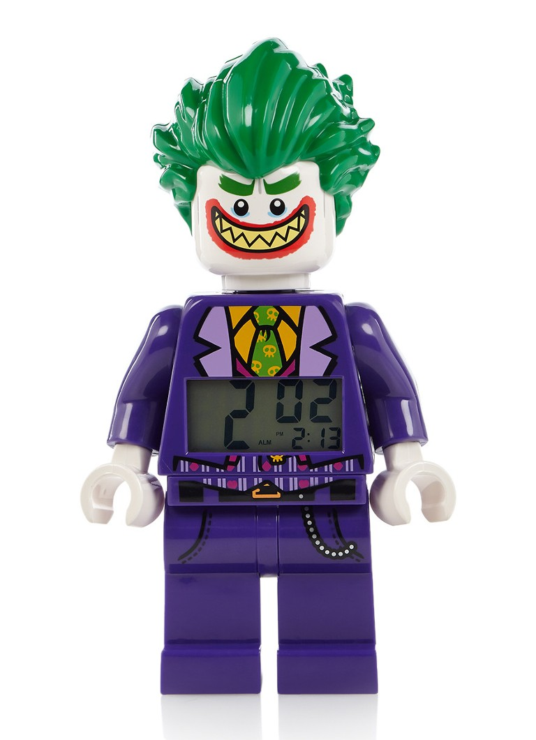 Lego - The Joker digitale wekker - Paars