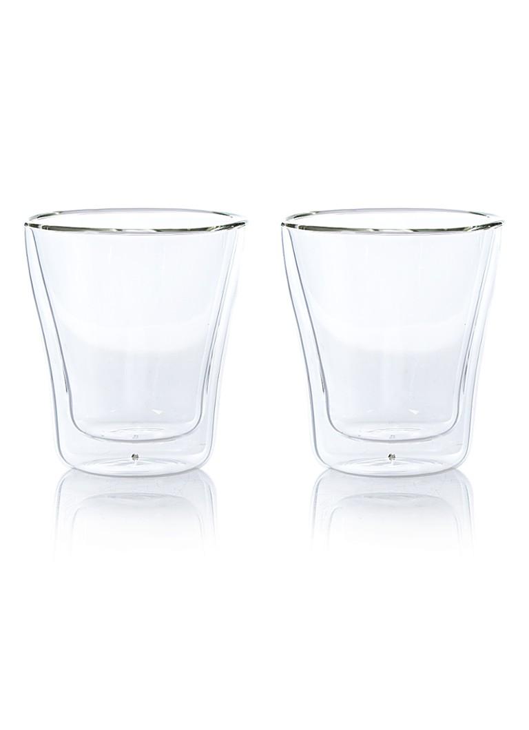 leonardo duo dubbelwandig glas set van 2 de bijenkorf. Black Bedroom Furniture Sets. Home Design Ideas