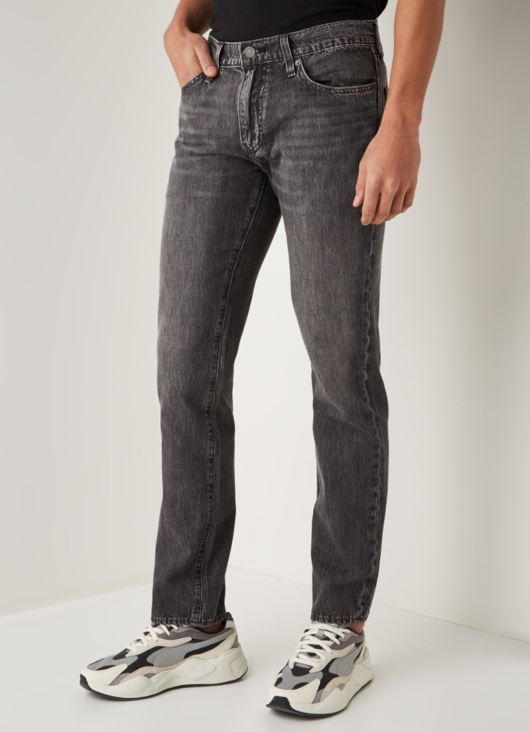 Levi's - 511 slim fit jeans met stretch - Middengrijs