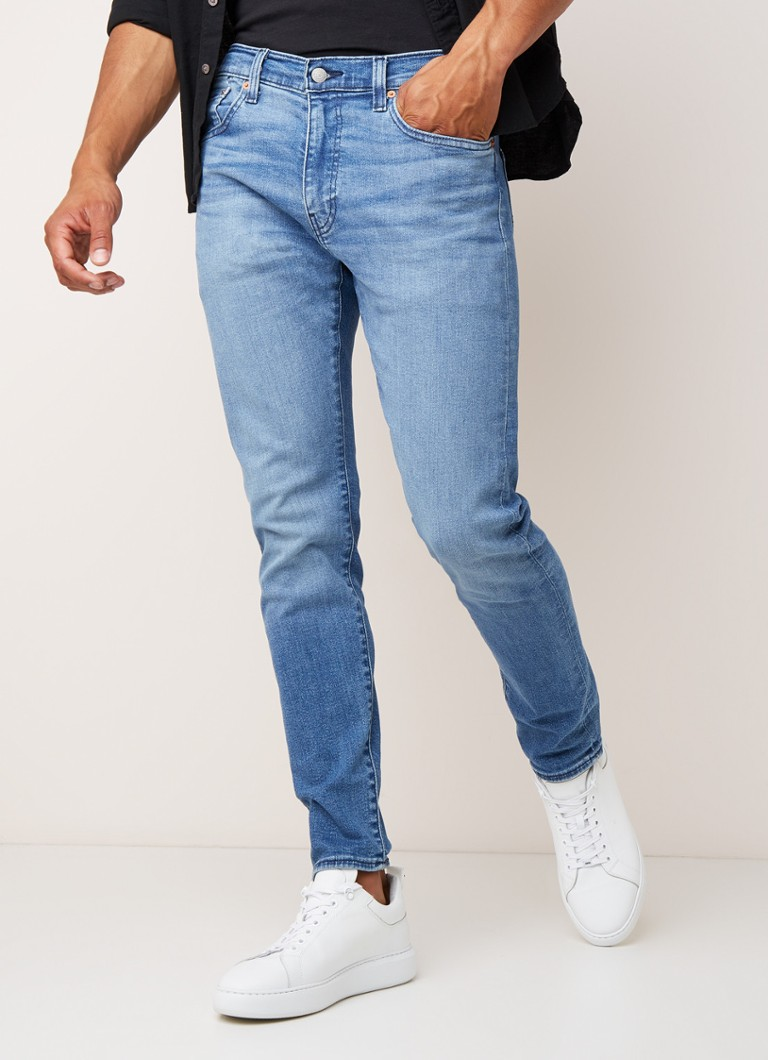 Levi's - 512 Slim fit jeans met stretch - Indigo