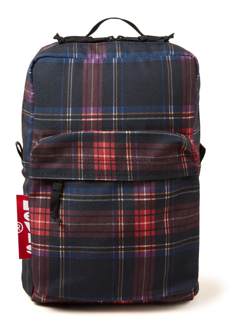 d85a1251c2f Levi's Levi's L Pack Mini rugzak met ruitdessin • de Bijenkorf