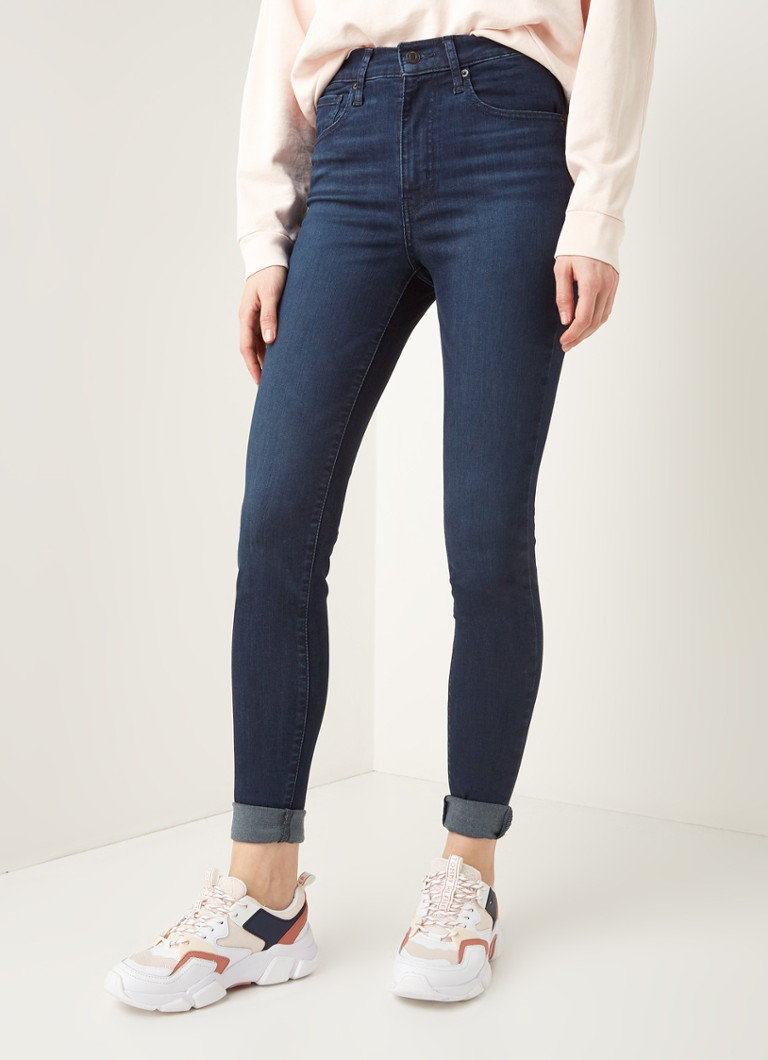 Levi's - Mile High high waist skinny fit jeans  - Indigo