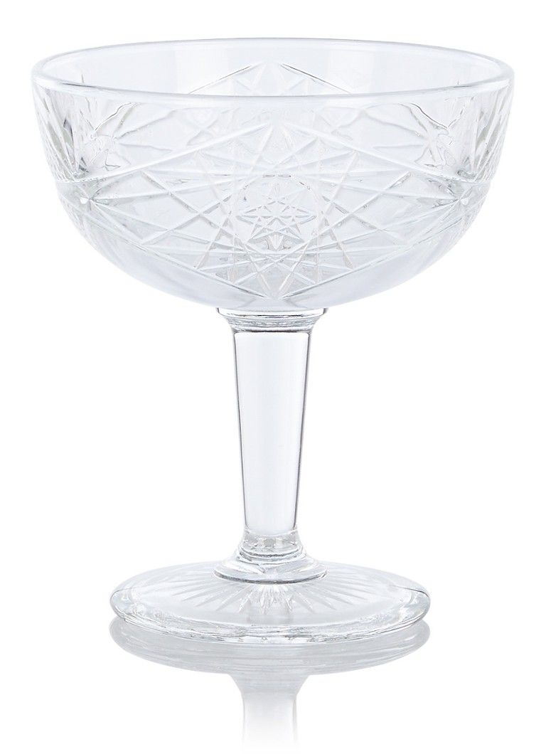 Libbey - Hobstar coupe 25 cl - Transparant