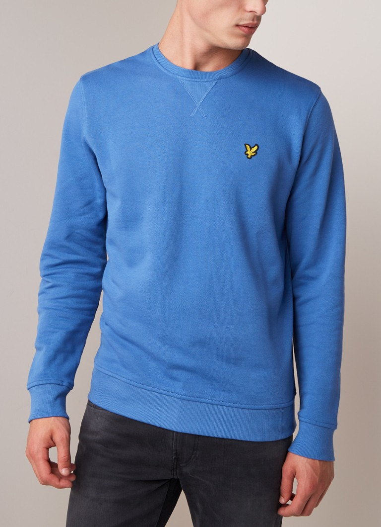Lyle & Scott - Sweater met merkapplicatie - Blauw
