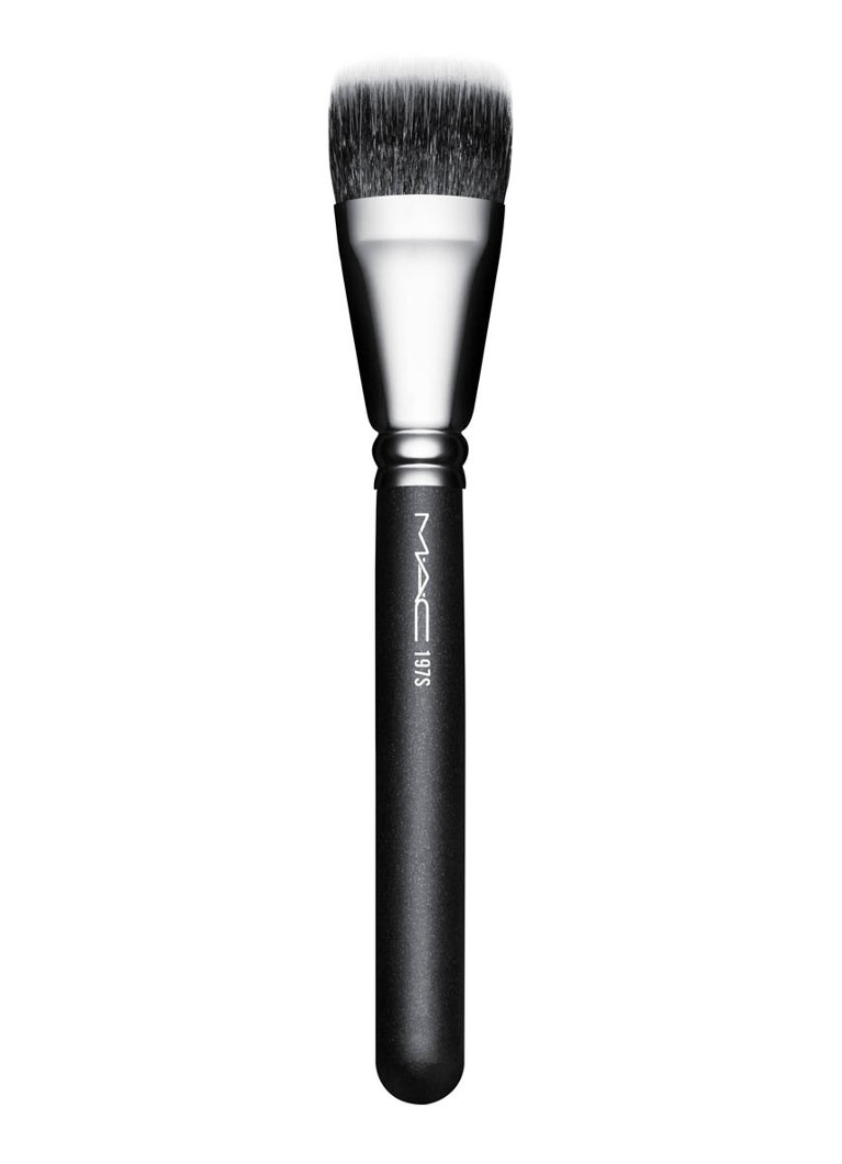 M·A·C - 197 Synthetic Duo Fibre Square Brush - kwast - null