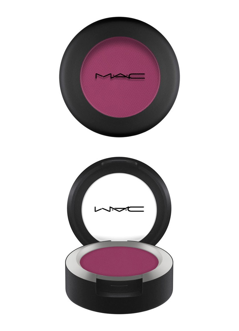 M·A·C - Powder Kiss Eyeshadow - oogschaduw - LENS BLUR
