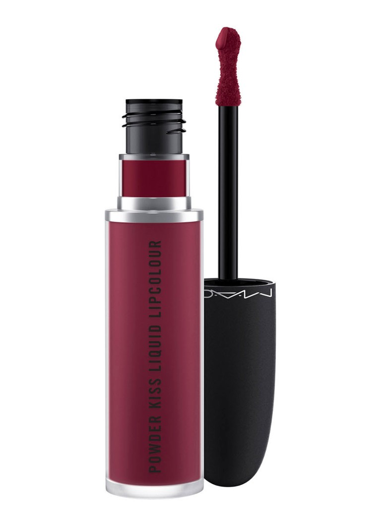 M·A·C - Powder Kiss Liquid Lipcolour - vloeibare lipstick - BURNING LOVE