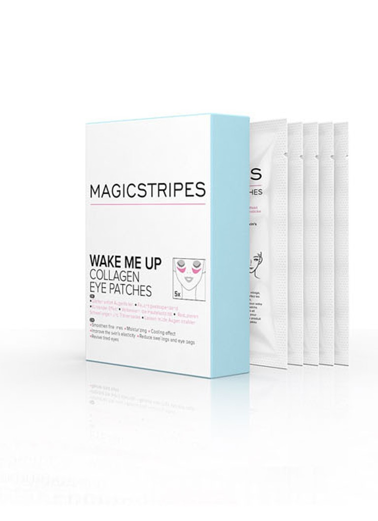 Magicstripes - Wake Me Up Collagen Eye Patches - oogmasker -