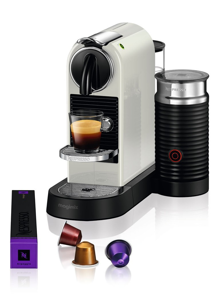 Magimix - CitiZ & Milk Nespresso machine M195CN - Wit