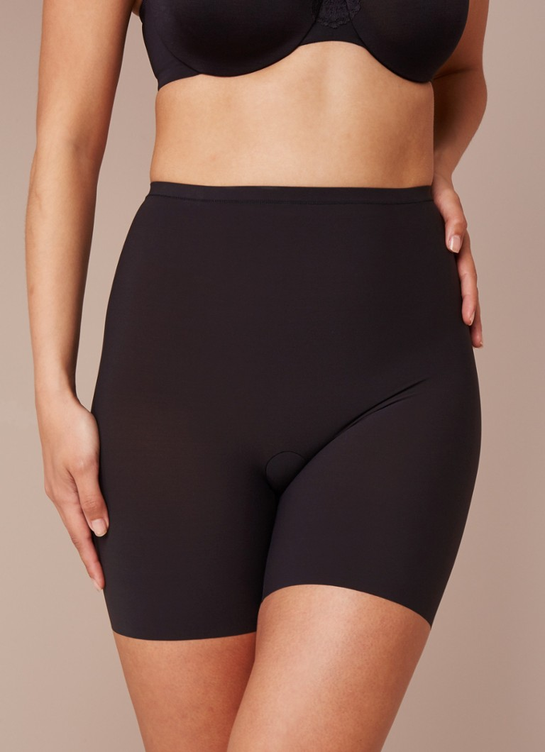 Maidenform - Hi-waist shortje in zwart - Zwart