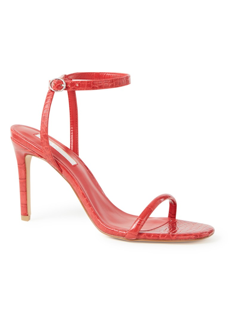 MANGO - WOMAN-SANDALS .-- LALI - Rood