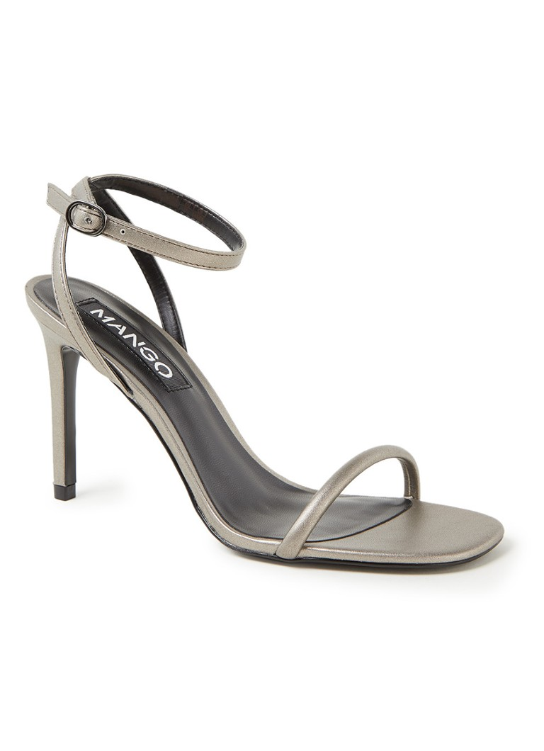 MANGO - WOMAN-SANDALS .-- LALI1 - Zilver