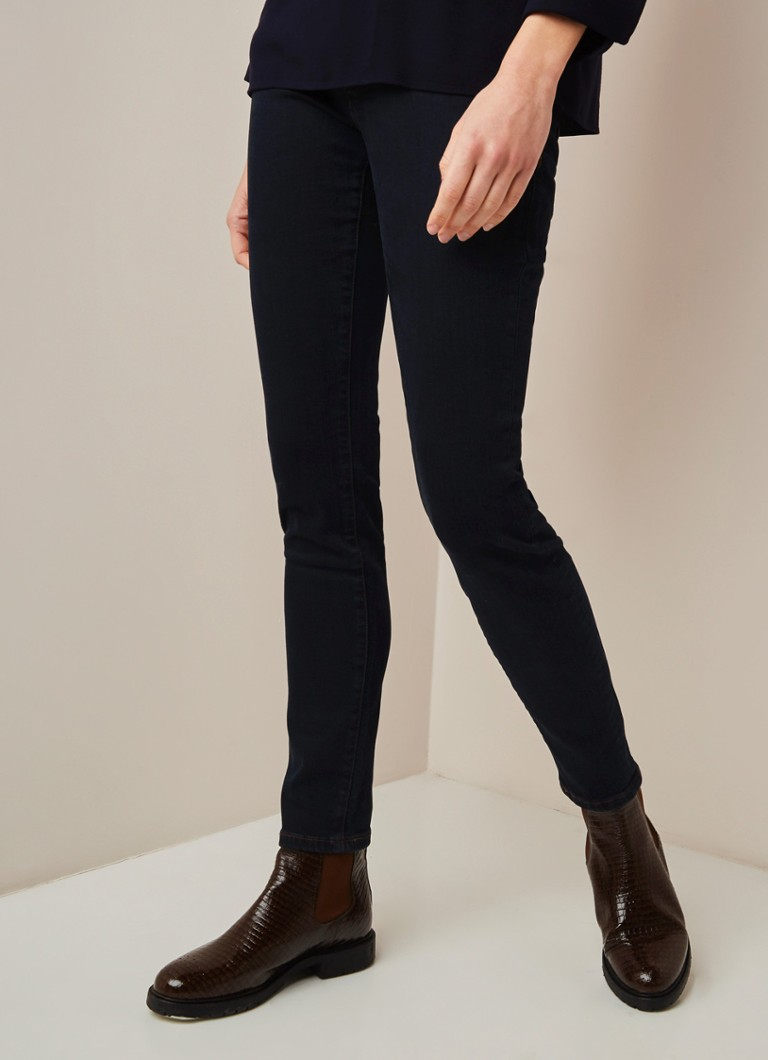 Marc O'Polo - Marc O'Polo Low waist skinny fit jeans met stretch - Indigo