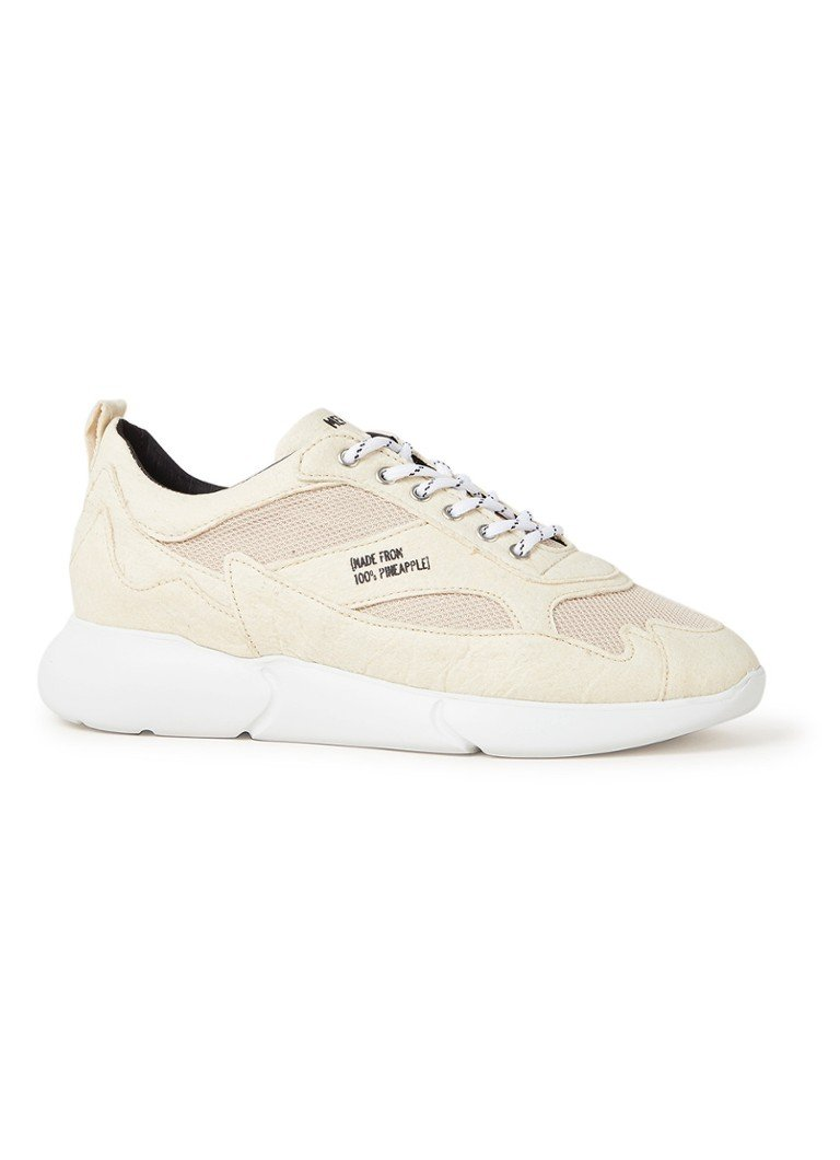 Mercer - W3RD Pineapple Low van vegan leer - Creme