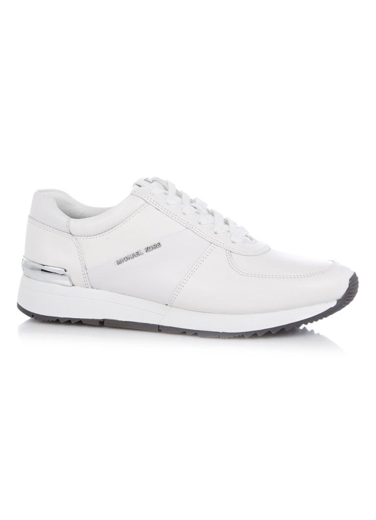 2d4eaf71997 Michael Kors Allie sneaker van leer • de Bijenkorf