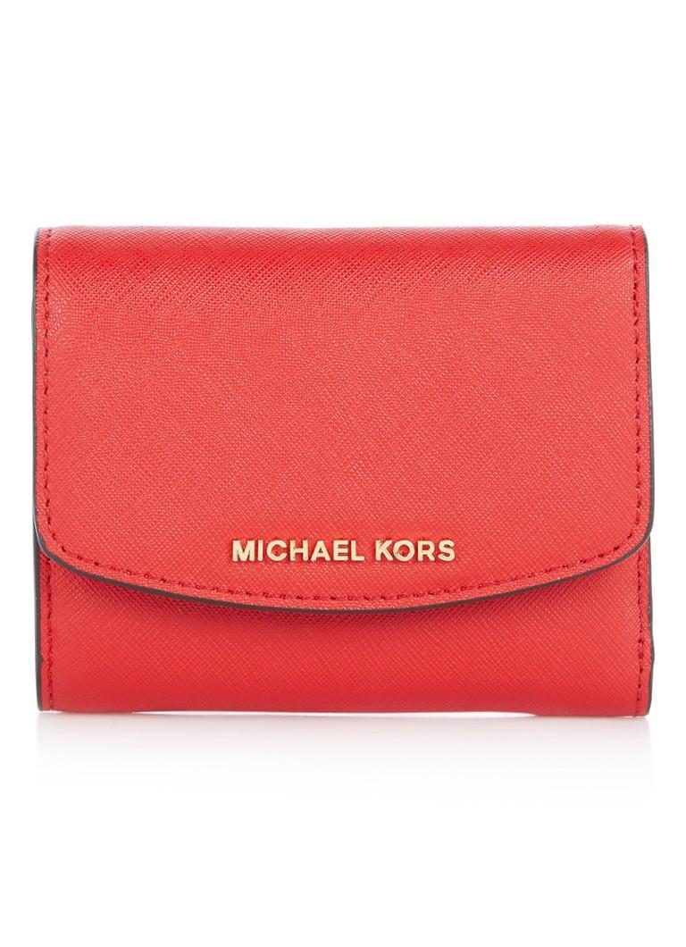 34aacaa3cac Michael Kors Ava portemonnee van saffianoleer • de Bijenkorf