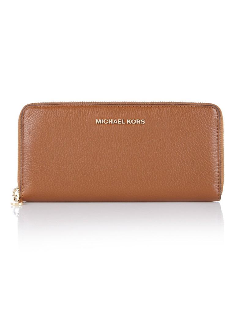 1212ba8eb15 Michael Kors Bedford portemonnee van leer • de Bijenkorf