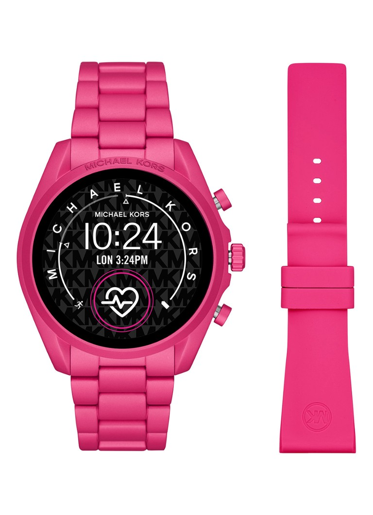 Michael Kors - Bradshaw Gen 5 Display smartwatch MKT5099 - Roze