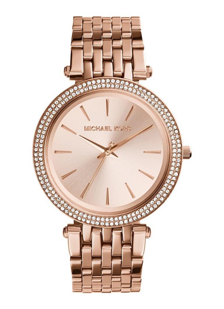 0ecb056ccee Michael Kors Horloge Darci MK3192 • de Bijenkorf