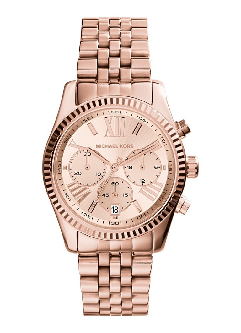 2d714d10283 Michael Kors Horloge Lexington MK5569 • de Bijenkorf
