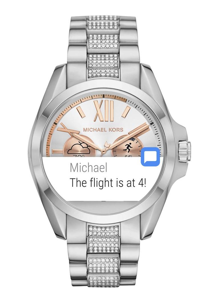 michael kors smartwatch horloge access mkt5000 de bijenkorf. Black Bedroom Furniture Sets. Home Design Ideas