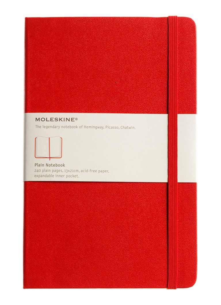 Moleskine - Coloured Large blanco notitieboek - null