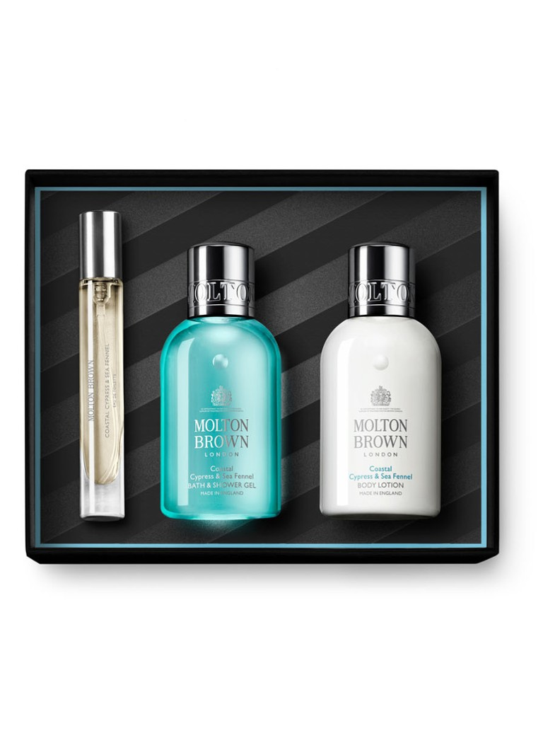 Molton Brown - Cypress & Sea Fennel travel collection - Limited Edition verzorgingsset - null