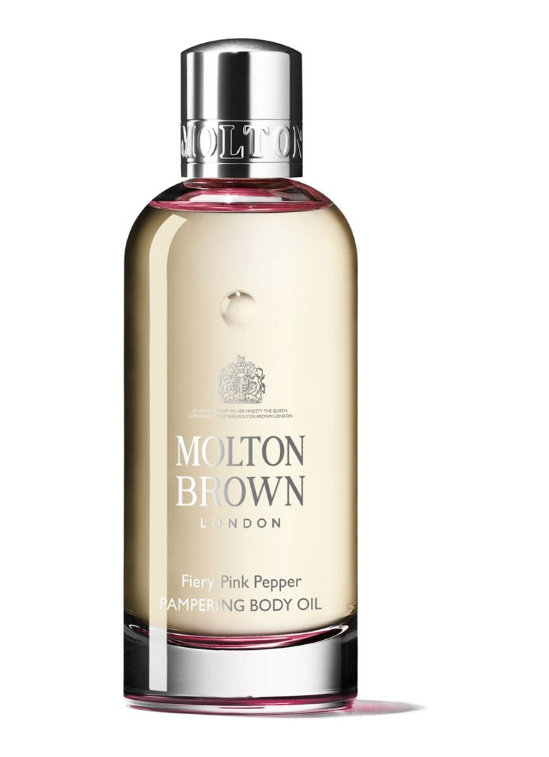 Molton Brown - Fiery Pink Pepperpod Pampering Body Oil - huidolie - null