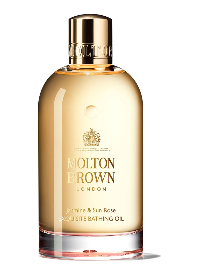 Molton Brown - Jasmine & Sun Rose Bathing Oil - badolie - null