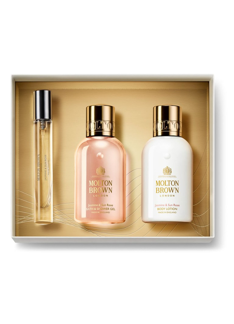 Molton Brown - Jasmine & Sun Rose travel collection - Limited Edition verzorgingsset - null